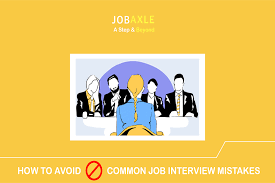 Most Common Job How To Avoid The Most Common Job Interview Mistakes