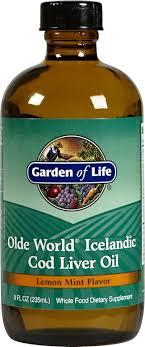 garden of life cod liver oil
