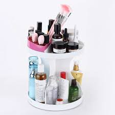 connectwide glam caddy 360 rotating makeup organizer white connectwide glam caddy 360 rotating makeup organizer white at low snapdeal