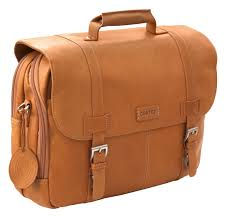 cortez colombian leather flapover briefcase 15 6 inch laptop business shoulder bag