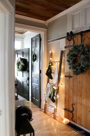 Hallway Decorating Farmhouse Christmas Hallway Decorating Christinas Adventures