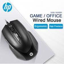 HP M150 ergonomik oyun fare ayarlanabilir 1600dpi sessiz kablolu bilgisayar  oyun fare Pro Gamer PC bilgisayar dizüstü bilgisayar faresi|Mice