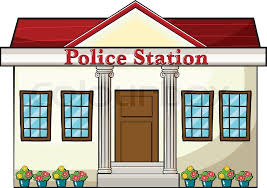 police station building clipart. Delighful Police In Police Station Building Clipart O