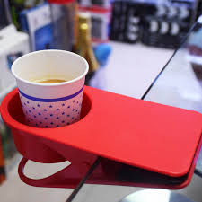 thicken table desk cup holder clip drink clip coffee holder storage clip