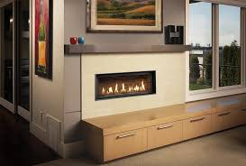 napoleon linear gas fireplace wall mounted