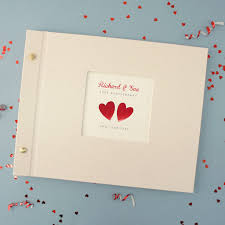 Personalised Ruby Wedding Anniversary Photo Album By Made By Ellis