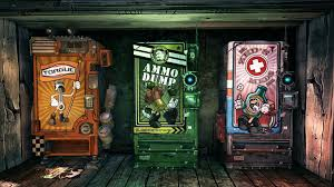 Borderlands Vending Machine Extraordinary Borderlands Vending Machines HD Wallpaper Games Wallpaper Better