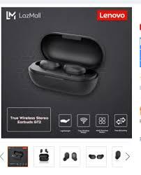 <b>Lenovo GT2 TWS Mini</b> Bluetooth 5.0 Earbuds... - Online Gadgets ...