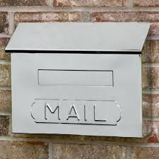modern wall mounted mailbox horizontal mail wall mount mailbox polished stainless steel contemporary wall mounted mailboxes