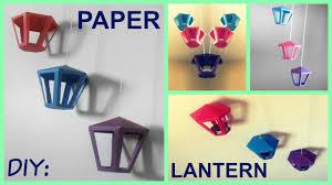 Diy Paper Lanterns Diy Paper Lantern Room Decor Youtube