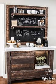 coffee bar. Do These 8 Simple Upgrades To Make Your Kitchen Feel More Luxurious Coffee Bar Y