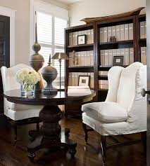 dining room and office. pin it dining room library office bhg and