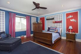 Patriotic Bedroom Red White And Blue Bedroom