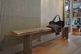Panca Per Sala Da Pranzo : Panca con asse da recupero molto usurato per tavolo di labmilano