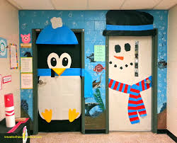 winter classroom door decorations. Delighful Classroom Classroom Door Decorations For Winter Lovely Snowman Decoration Ideas  Simple Fro Bedroom Inside A