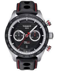 25 best ideas about tissot mens watch watches for tissot men s swiss automatic chronograph prs 516 black leather strap watch 45mm t1004271605100