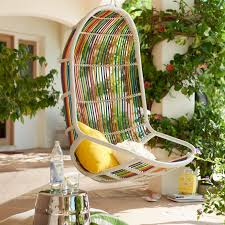 willow singasan patio hanging chair from pier one