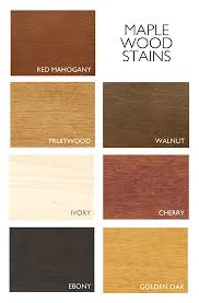 Maple Wood Stain Pdf Woodworking Wood Deck Stain Colors