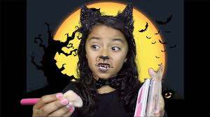 kitty cat makeup tutorial 7 year old