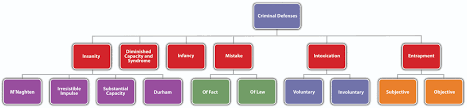 Criminal Law Defenses Chart Criminal Defenses Part 2
