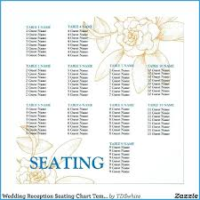 wedding seating chart poster template free good reception diy t