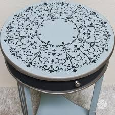 furniture stencils. painted furniture with italian stencils - medallion designs royal design studio