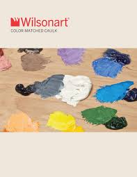 Wilsonart Color Matched Caulk Brochure By Wilsonart Issuu