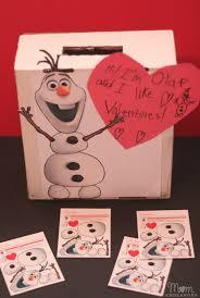 diy olaf valentines box