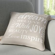 decorative pillows with words. Unique With With Decorative Pillows Words E