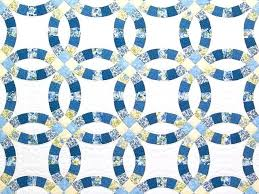 free blue and yellow quilt patterns yellow and blue toile bedding blue and yellow double wedding