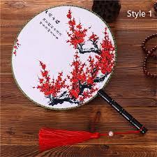 Female Classical Dancing <b>round Chinese Style</b> Handheld <b>Circular</b> ...
