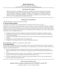 financial advisor resume sample regarding sample hr resume - Financial  Advisor Sample Resume