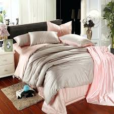 light pink and grey bedding plain colored light pink and grey color block simply chic noble