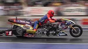 incredible nitro top fuel motorcycle nostalgia drag racing with