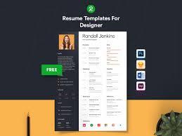 Designer Minimal Cv Resume Template