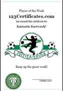 soccer awards templates free printable soccer certificate templates awards printables