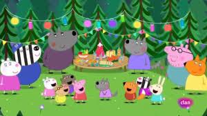 Peppa pig en el cumpleaños de wendy wolf😍 - YouTube