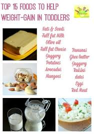 Diet For Your Underweight Toddler Baby
