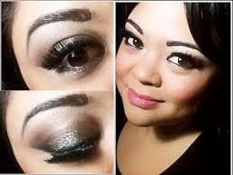 glittery y brown makeup tutorial i l oreal infalliable eye shadows i villabeautifful