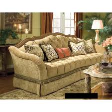aico living room set. michael amini villa valencia wood trim tufted sofa by aico aico living room set h