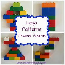 Lego Patterns Custom Save Money Live Joyfully Lego Patterns Travel GameFree Printables
