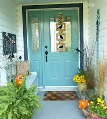 front porch at thehappyhousie