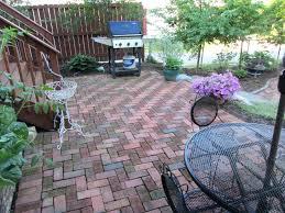 brick patio layout ideas design patterns making it a natural feel of grade brick patio design
