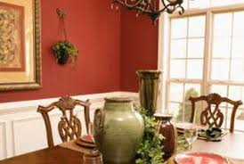 dining room red paint ideas. Red Paint Adds A Bold Punch Of Color In Dining Room. Room Ideas I