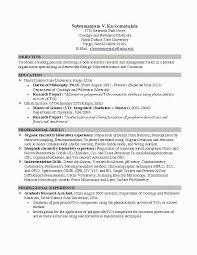 College Graduate Resume Template Luxury Resume Samples For College