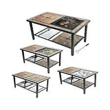 fire table cover fire sense revolver pit living table cover 48 round fire table cover