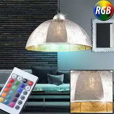 Fernbedienung Stoff Hänge Led Rgb Ess Lampe Dimmbar Leuchte