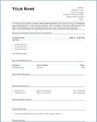printable cv template free blank resume template printable boarsemen2011 com