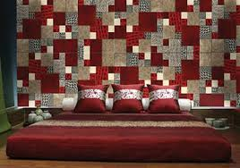 Small Picture Modern Wall Decor in Patchwork Fabric Style Wall Design Trends