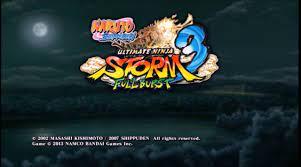 Naruto Ultimate Ninja Storm 3 PSP ISO Download - Android4game